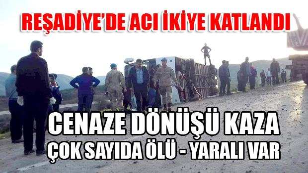REŞADİYE'DE CAN PAZARI