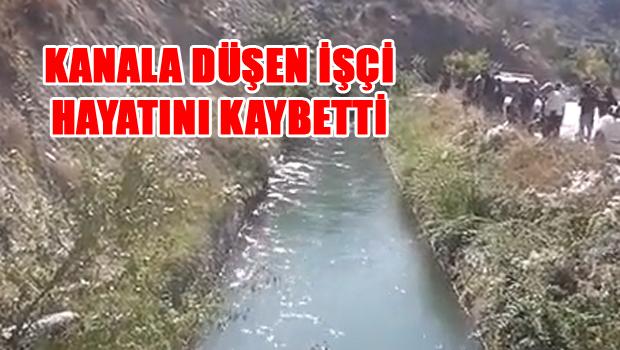 Sulama Kanalına Düşen İşçinin Cansız Bedeni Bulundu