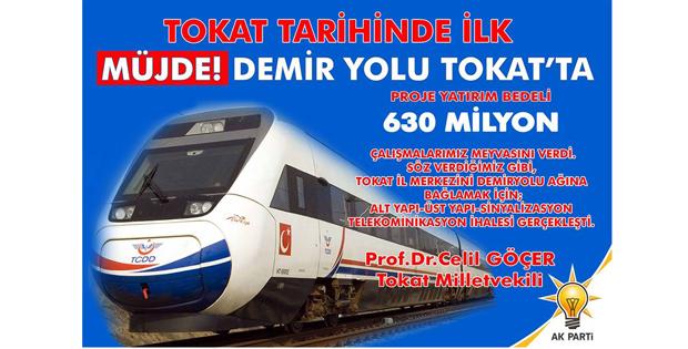 TOKAT'A DEMİRYOLU GELİYOR-9024