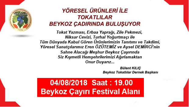 TOKATLILAR BEYKOZ'DA BULUŞUYOR