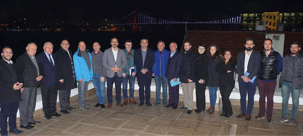 TOSİAD İSTANBUL ŞUBESİ YILIN SON TOPLANTISINI YAPTI