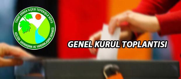 Tepekışla Köyü Derneği Başkanlık Seçimi Yapılıyor.