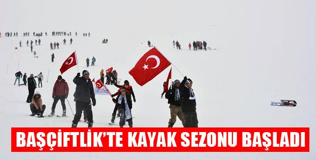 Tokat'ta Kayak Sezonu Açıldı