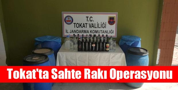 Tokat'ta Sahte Rakı Operasyonu-10435