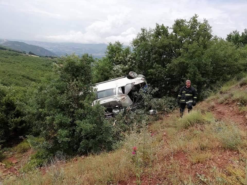 Tokat'ta Yolcu Minibüsü Devrildi: 7 Yaralı