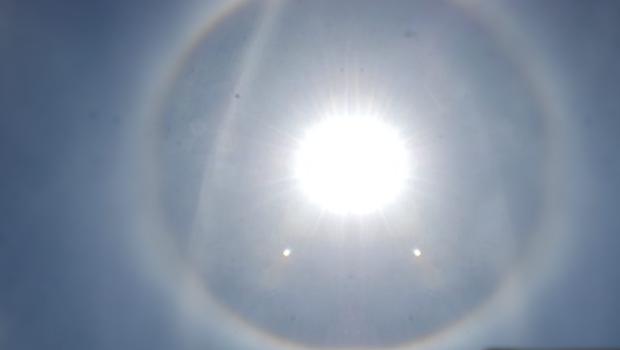 Tokat'ta meydana gelen doğa olayı, görenleri şaşırttı