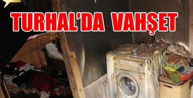 Turhal'da Yangın ve Cinayet