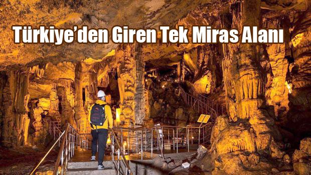 Türkiye'den Giren Tek Miras Alanı
