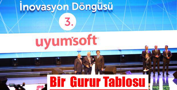 Uyumsoft Türkiyenin İnovasyon Liderleri Arasında Yerini Aldı