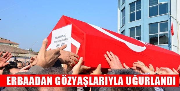 Vefat Eden Polis Memuru İçin Erbaa'da Tören Düzenlendi