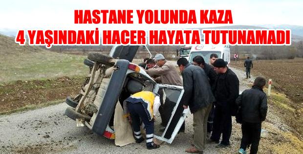 Yozgat'lı Aile ZİLE'de Kaza Yaptı