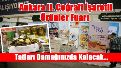 Ankara II. Coğrafi İşaretli Ürünler Fuarı