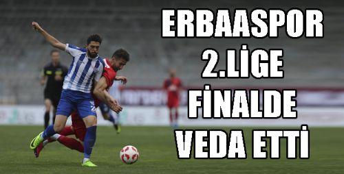 Erbaaspor - Silivrispor maç sonucu: 0-1