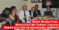 Rüştü Bozkurt'tan Mükemmel Bir Sohbet Toplantı