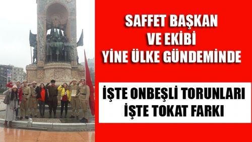 Taksim'de Sarıkamış Şehitleri İçin Nöbet Tuttular