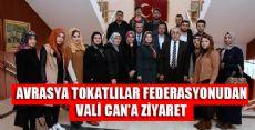 VALİ CAN'A ZİYARET