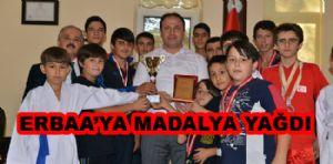 Wushu Turnuvasından Erbaa'ya 9 Madalya