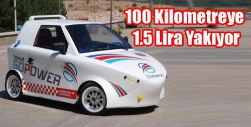 100 Kilometreye 1.5 Lira Yakıyor