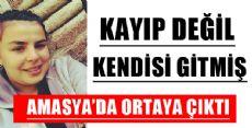 11 Gündür Kayıp Lise Öğrencisi Amasya'da Ortaya Çıktı