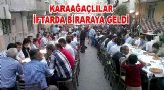 Karaağaç Köyü Derneği İftar Verdi