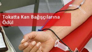 Tokatta Kan Bağışçıları Ödüllendirildi