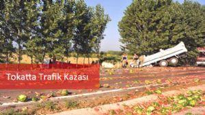 Tokatta Trafik Kazası