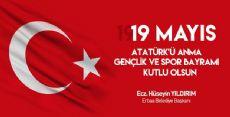 19 Mayıs Atatürk'ü Anma Gençlik ve Spor Bayramı Mesajı