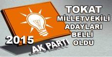 2015 TOKAT AK PARTİ MİLLETVEKİLİ ADAYLARI