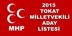 2015 TOKAT MHP ADAY LİSTESİ