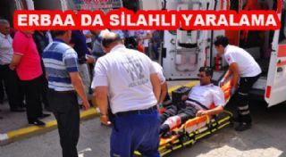 Erbaa'da Silahla Yaralama