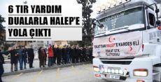 TOKAT'TAN HALEP'E YARDIM ELİ