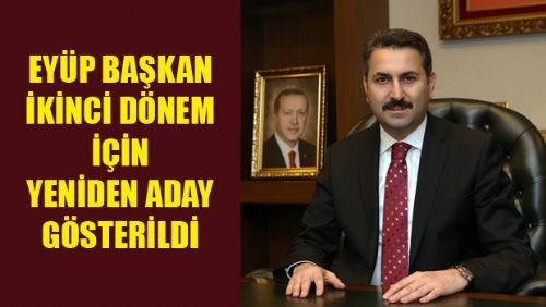 AK Parti'nin En Genç Belediye Başkanı Yeniden Aday