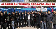 ALPARSLAN TÜRKEŞ ERBAA'DA ANILDI