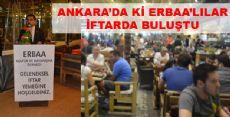 ANKARA'DA Kİ ERBAA'LILAR İFTARDA BULUŞTU