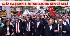 AZİZ BAŞKAN İSTANBUL'DA