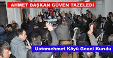 Ahmet BAŞKAN GÜVEN TAZELEDİ