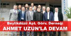 Ahmet Uzun Güven Tazeledi