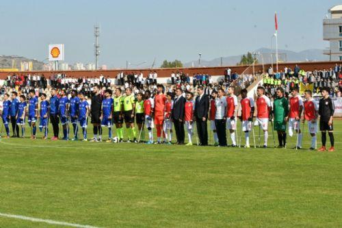 Ampute Futbol Türkiye Kupası Heyecanı Tokat'ta başladı
