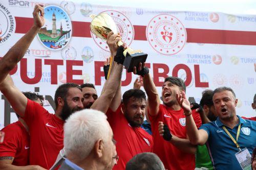 Ampute Türkiye Kupası Şahinbey'in