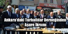 Ankara'daki Turhallılar Derneğinden Aşure İkramı
