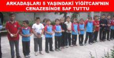 Arkadaşları 5 Yaşındaki Yiğitcan'ı Yalnız Bırakmadı