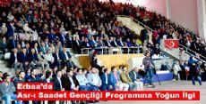 Asr-ı Saadet Gençliği Programına Yoğun İlgi