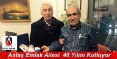 Astaş Emlak Ailesi 40.Yılını Kutluyor