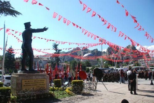 Atatürk'ün Tokat'a Gelişinin 99'uncu Yıl Dönümü Törenle Kutlandı
