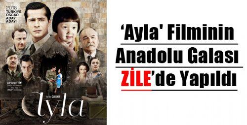 Ayla Filminin Anadolu Galası Tokat'ta Yapıldı