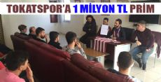 BAŞKAN SANSAR'DAN 1 MİLYON TL PRİM SÖZÜ