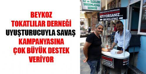 BEYKOZ'DAN HÜKÜMETE UYUŞTURUCU ÇAĞRISI !