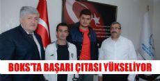 BOKS'TA TÜRKİYE DERECESİ