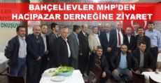 Bahçelievler Mhp Teşkilatından Hacıpazar Derneğine Ziyaret