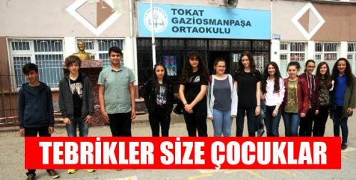 Başarının Adı Gazi Osman Paşa Ortaokulu